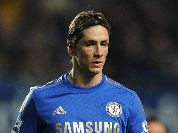 Torres has endured a tough two years at Chelsea